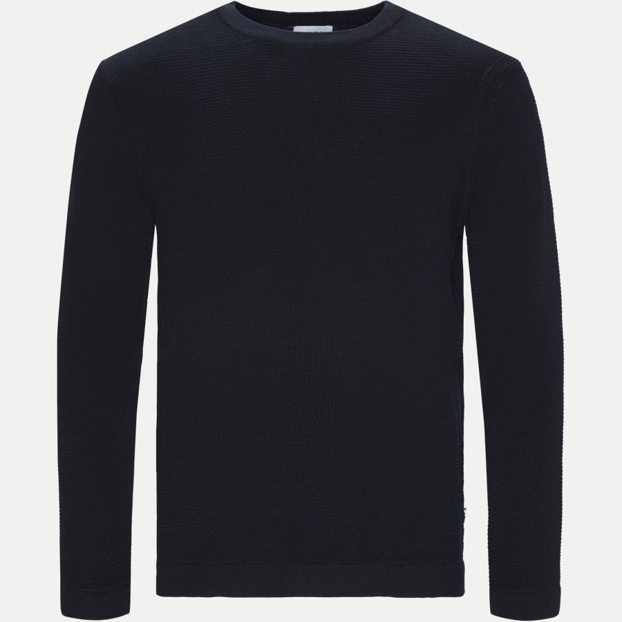 JULIAN 6194 - Julian Crewneck Knit - Strik - Regular - NAVY - 1