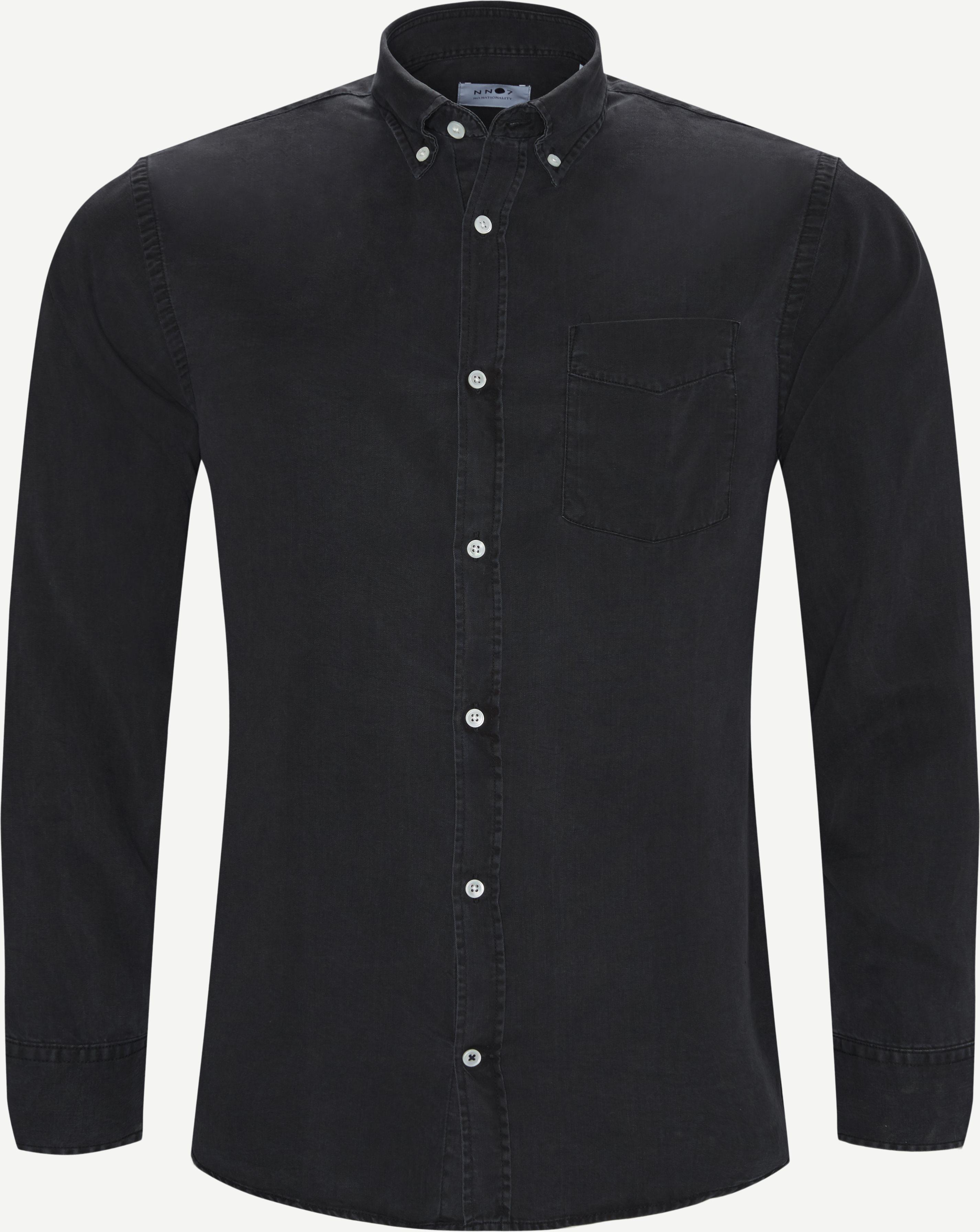 Shirts - Regular fit - Black