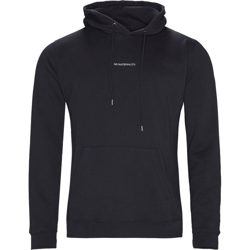 nn07 – Nn07 - barrow printed hoodie fra kaufmann.dk