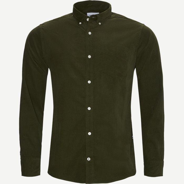 Levon BD Skjorte - Skjorter - Regular - Army
