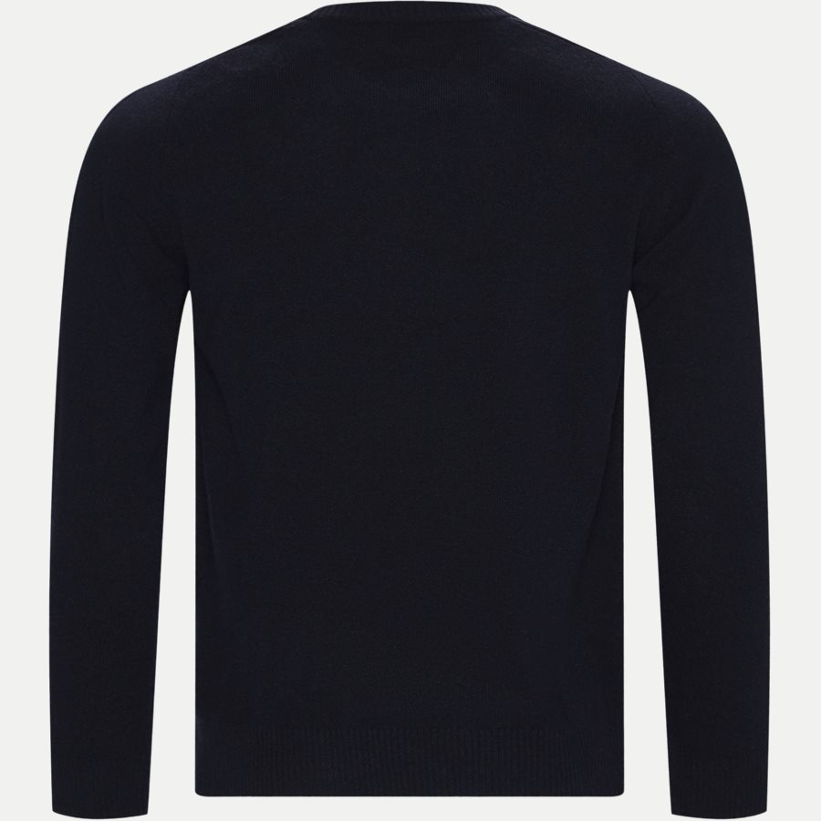 EDWARD LOGO 6333 - Edward Logo Knit - Strik - Regular - NAVY - 2