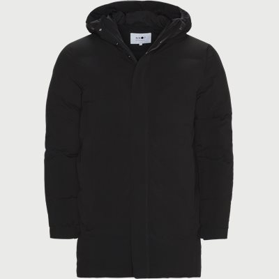 Golf 2-layer Technical Down Parka Jacket Regular | Golf 2-layer Technical Down Parka Jacket | Sort