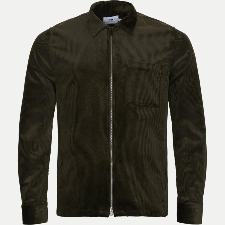 1322 ZIP SHIRT - Zip Shirt - Blazer - Regular - ARMY - 1