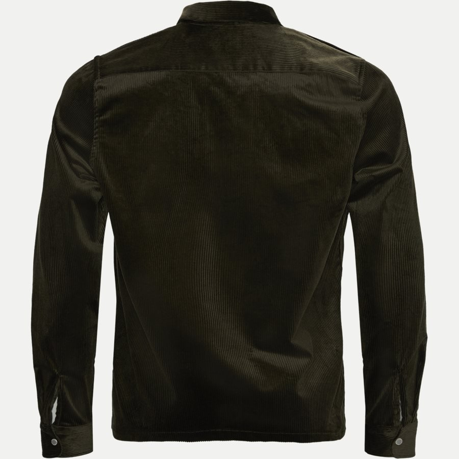 1322 ZIP SHIRT - Zip Shirt - Blazer - Regular - ARMY - 2