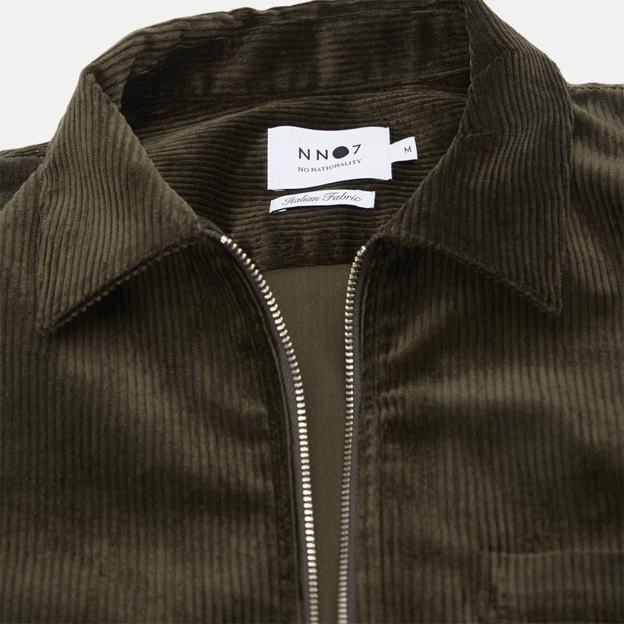 1322 ZIP SHIRT - Zip Shirt - Blazer - Regular - ARMY - 3
