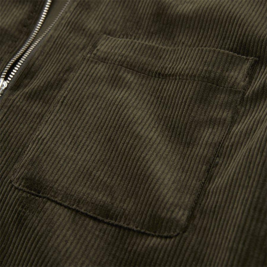 1322 ZIP SHIRT - Zip Shirt - Blazer - Regular - ARMY - 5