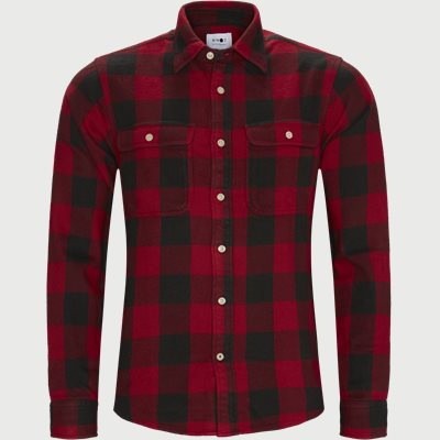 Alf Shirt Regular | Alf Shirt | Rød