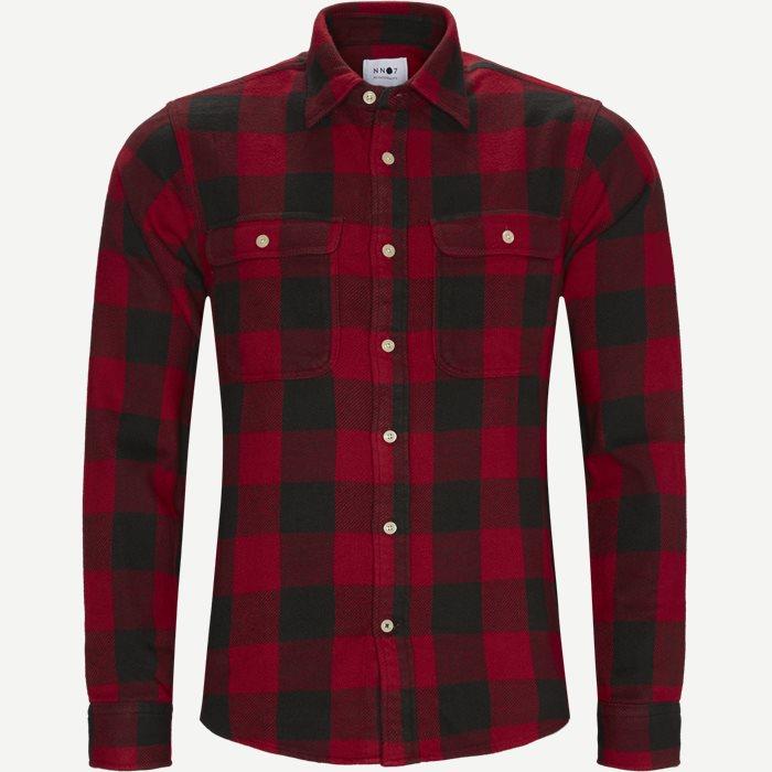Alf Shirt - Skjorter - Regular - Rød