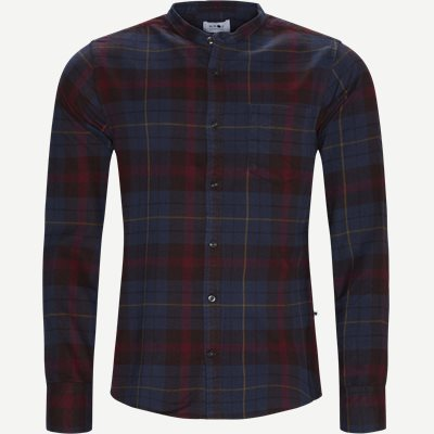 Justin Shirt Regular | Justin Shirt | Bordeaux