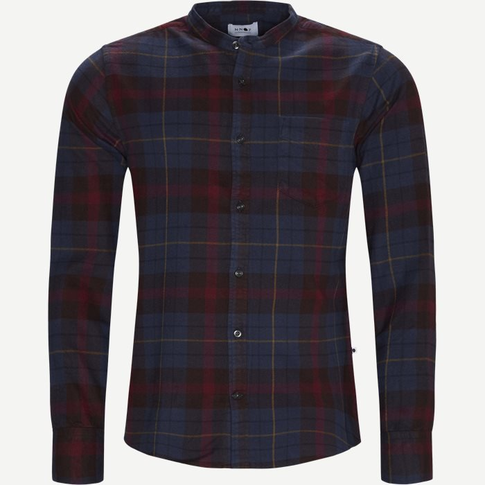 Justin Shirt - Skjorter - Regular - Bordeaux