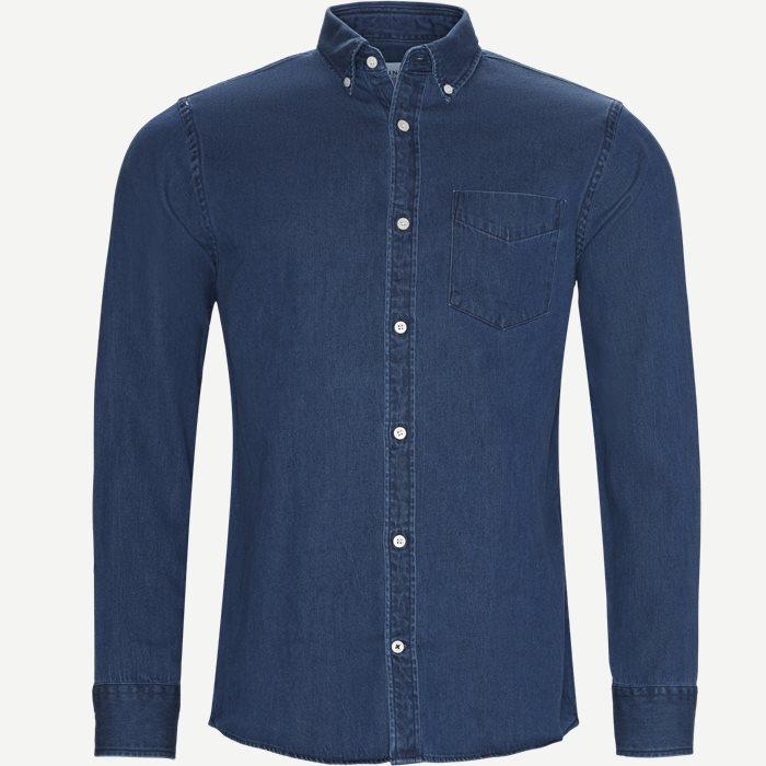 Levon BD Skjorte - Skjorter - Regular - Blå
