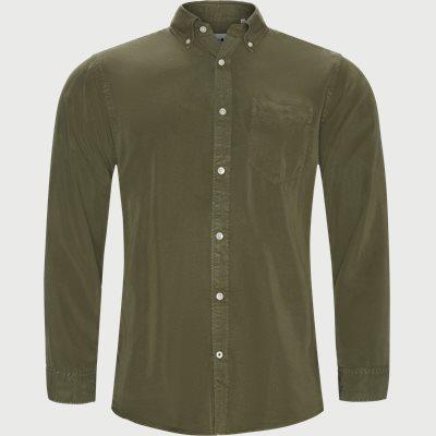 Levon Skjorte Regular | Levon Skjorte | Army