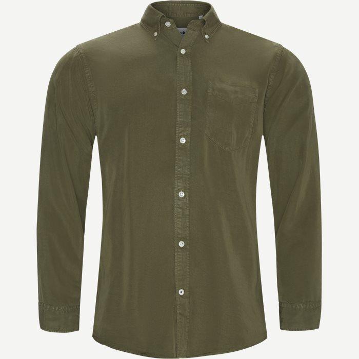 Hemden - Regular - Oliv