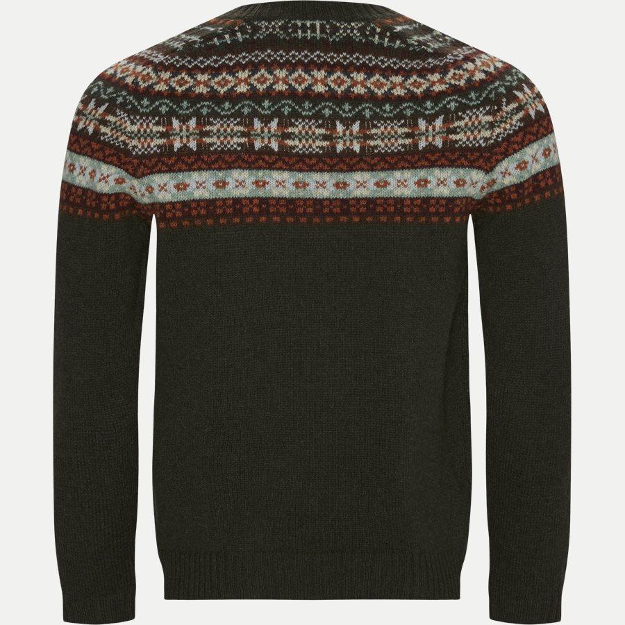 6212 NATHAN FAIRISLE - Nathan Fair Isle Sweater - Strik - Regular - OLIVEN - 2