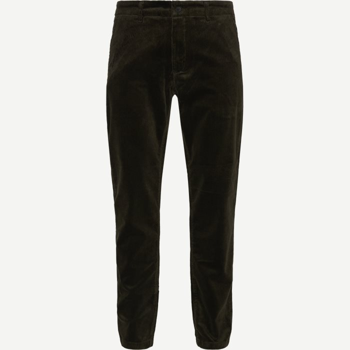 Karl Corduroy Chino - Bukser - Regular - Army