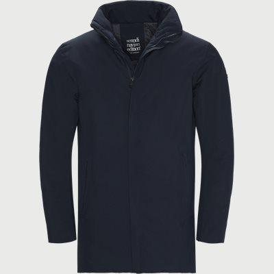Town Coat Regular   Town Coat   Blå