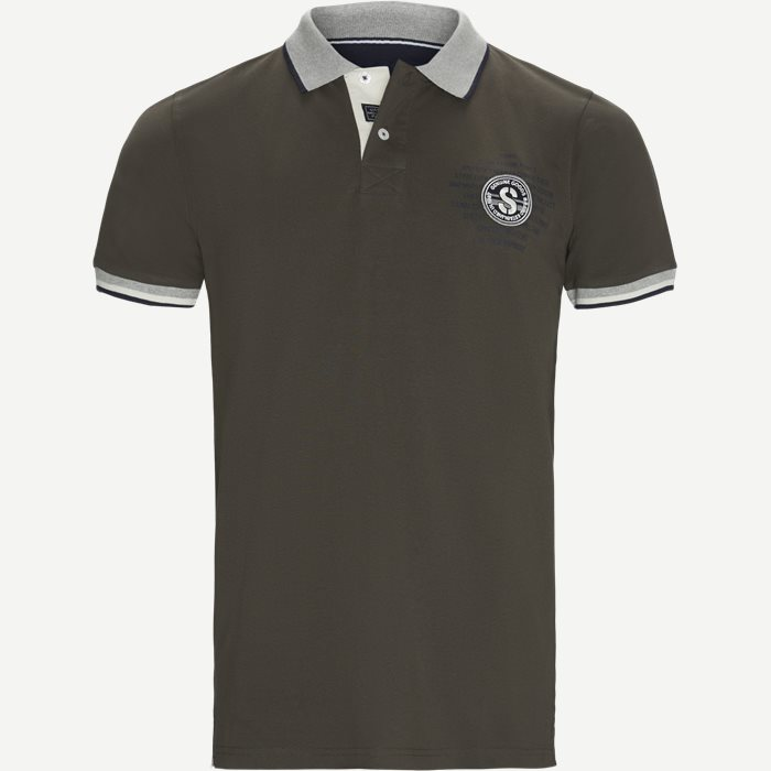 Gaston CP Polo T-shirt - T-shirts - Regular - Grå