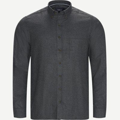 Franne Melange CP Button-Down Shirt Regular | Franne Melange CP Button-Down Shirt | Grå
