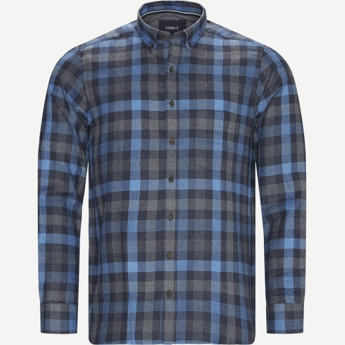 Franne Check CP Skjorte - Skjorter - Regular - Blå