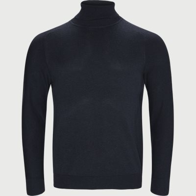 Kamerlos Turtleneck Slim | Kamerlos Turtleneck | Blå