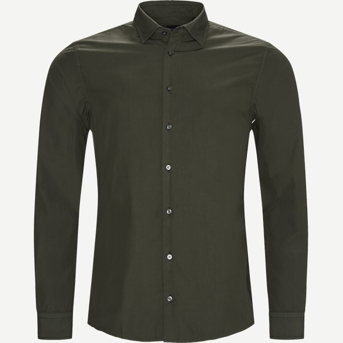 Shirts - Slim - Army