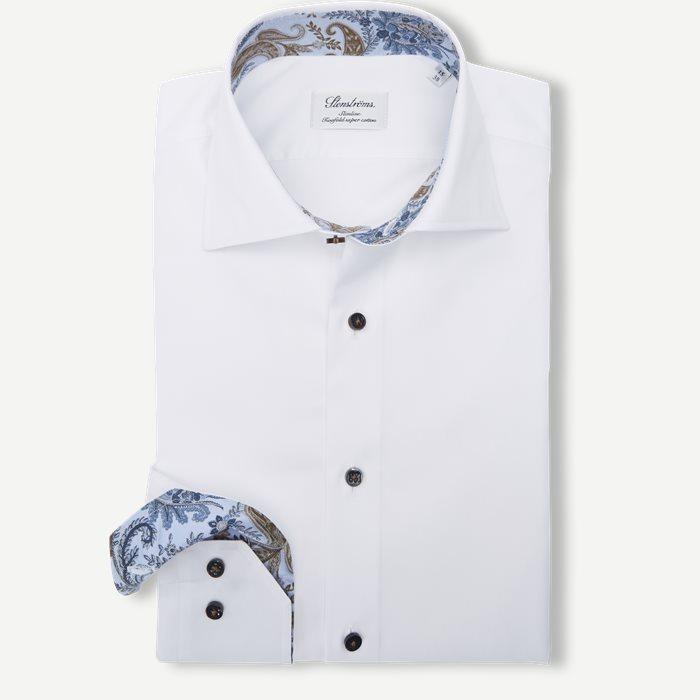 Twofold Super Cotton Skjorte - Skjorter - Hvid
