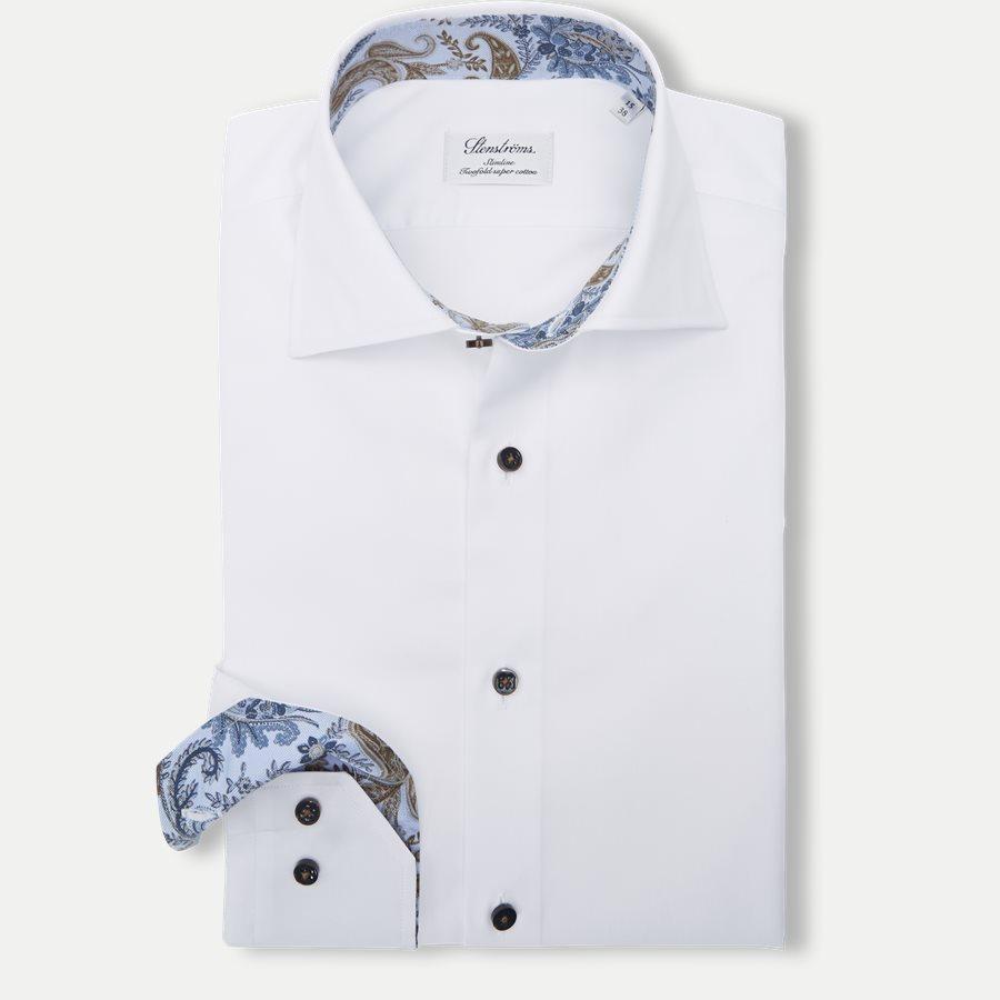 2255 784771/684771 - Twofold Super Cotton Skjorte - Skjorter - HVID - 1