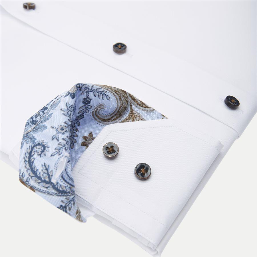 2255 784771/684771 - Twofold Super Cotton Skjorte - Skjorter - HVID - 4