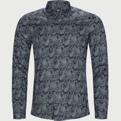 7820 Twofold Super Cotton Skjorte  7820 Twofold Super Cotton Skjorte  | Blå