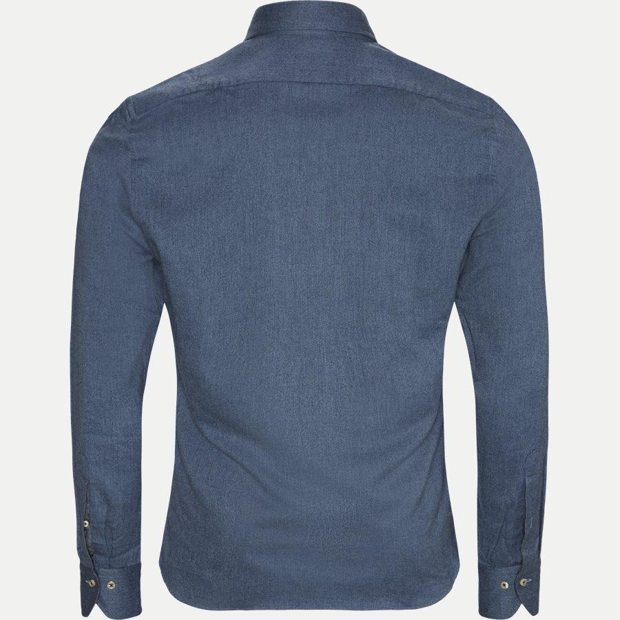 7635 784261/684261 - 7635 Twofold Super Cotton Skjorte - Skjorter - BLÅ - 2