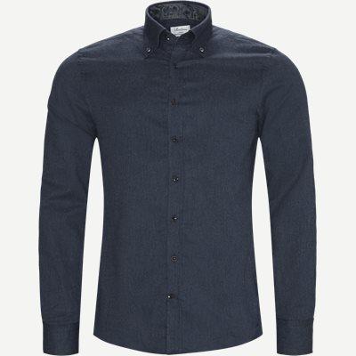 7635 Twofold Super Cotton Skjorte 7635 Twofold Super Cotton Skjorte | Blå