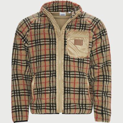 Westly Fleece Zip Sweatshirt Westly Fleece Zip Sweatshirt | Sand
