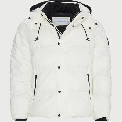 Mid Length Fake Down Jacket Regular | Mid Length Fake Down Jacket | Hvid