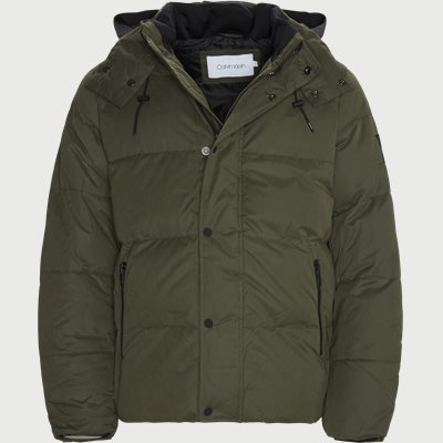 Mid Length Fake Down Jacket Regular | Mid Length Fake Down Jacket | Army
