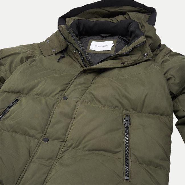 Mid Length Fake Down Jacket