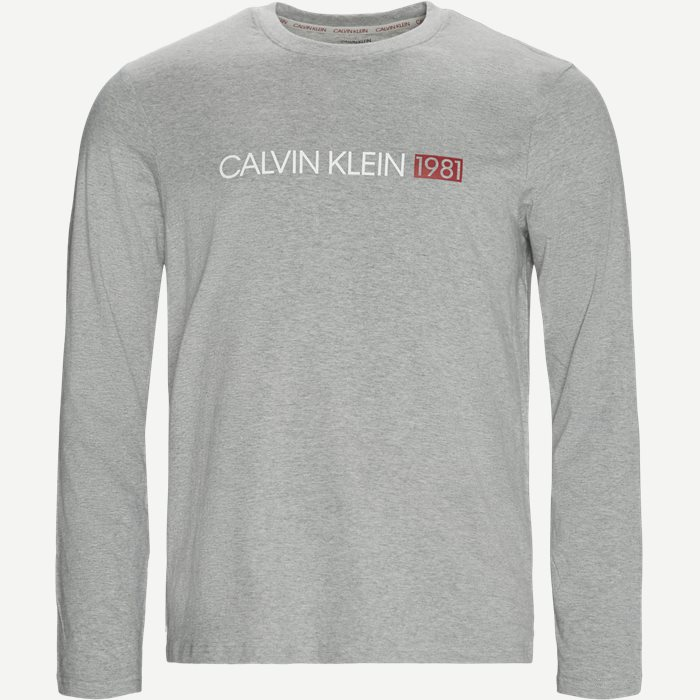 LS Crew Neck T-Shirt - Sleepwear - Regular - Grå
