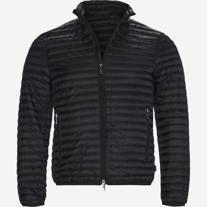 Down Jacket - Jakker - Slim - Sort