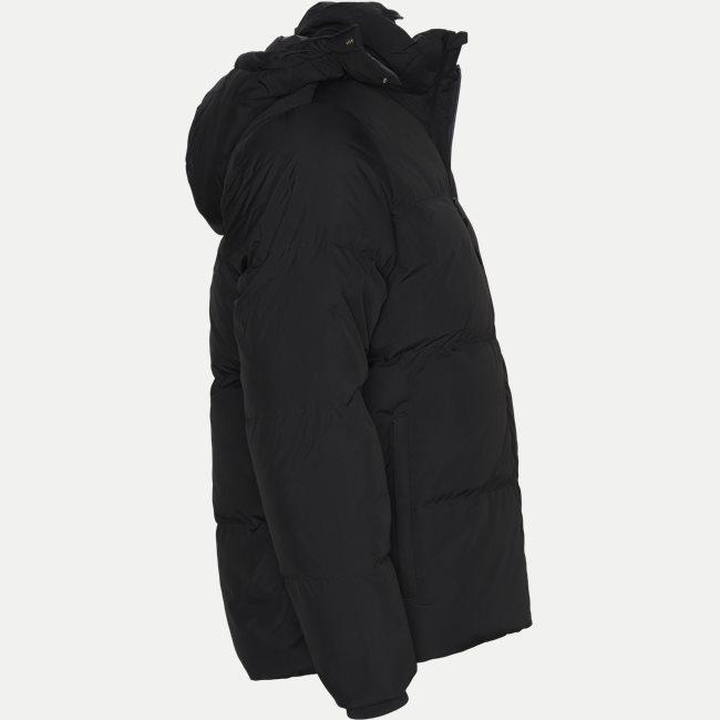 Detachable Hood Down Water-Resistant Taffeta Jacket