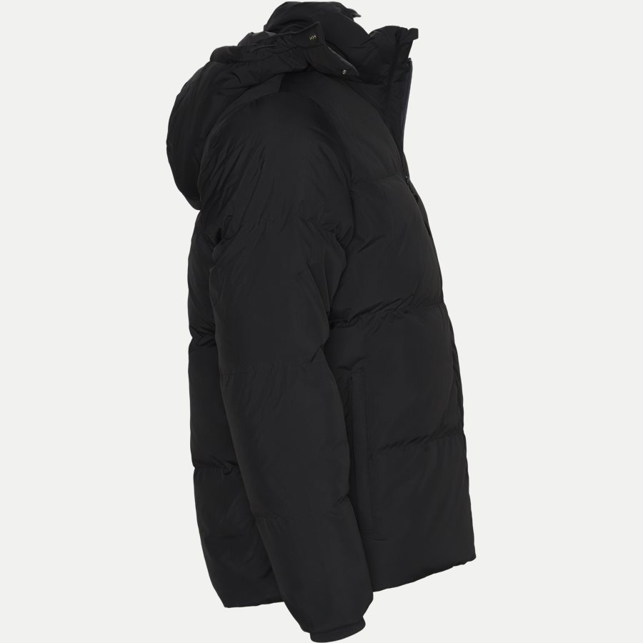 BH9358 - Detachable Hood Down Water-Resistant Taffeta Jacket - Jakker - Regular - SORT - 4