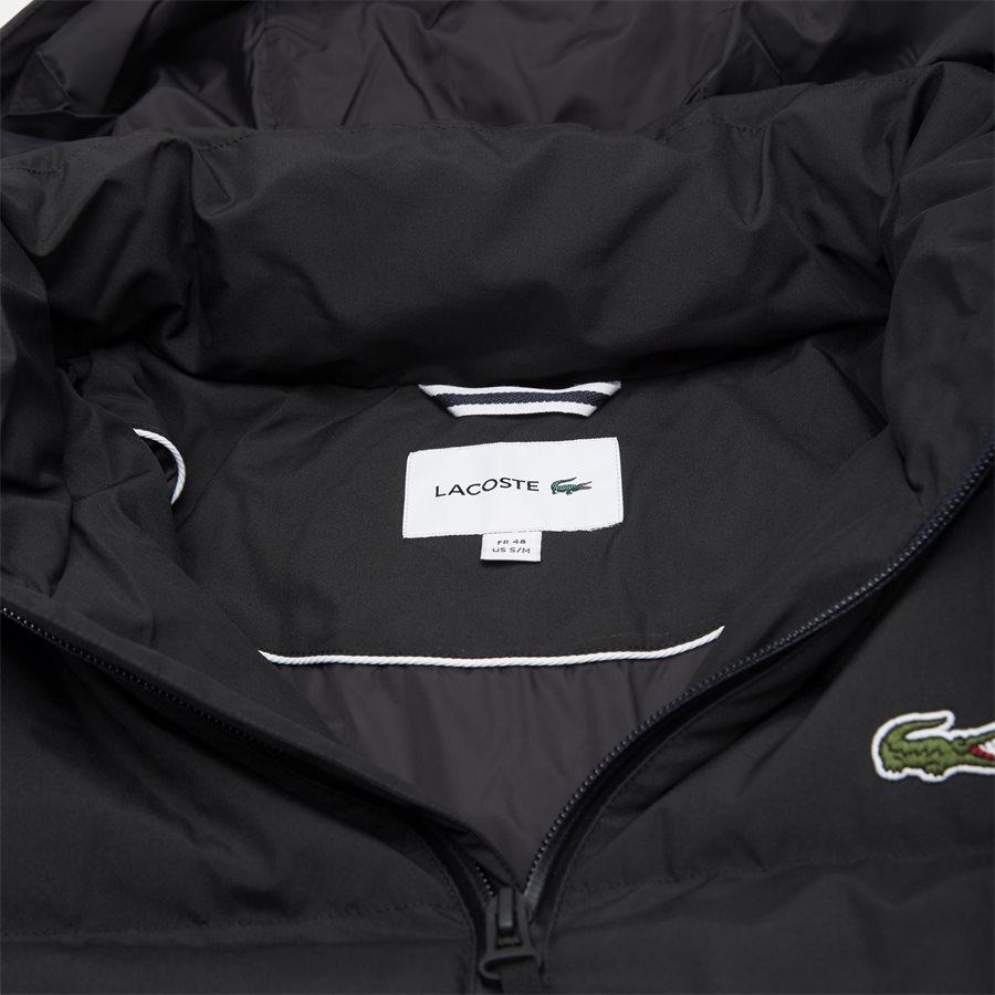 BH9358 - Detachable Hood Down Water-Resistant Taffeta Jacket - Jakker - Regular - SORT - 5