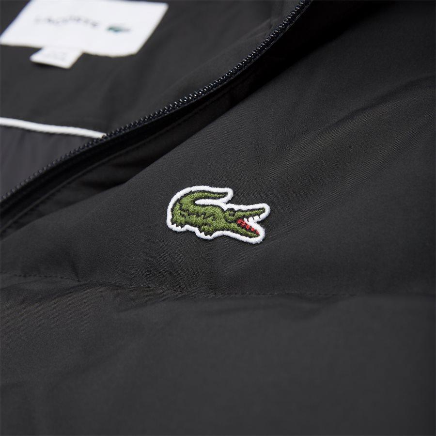BH9358 - Detachable Hood Down Water-Resistant Taffeta Jacket - Jakker - Regular - SORT - 6