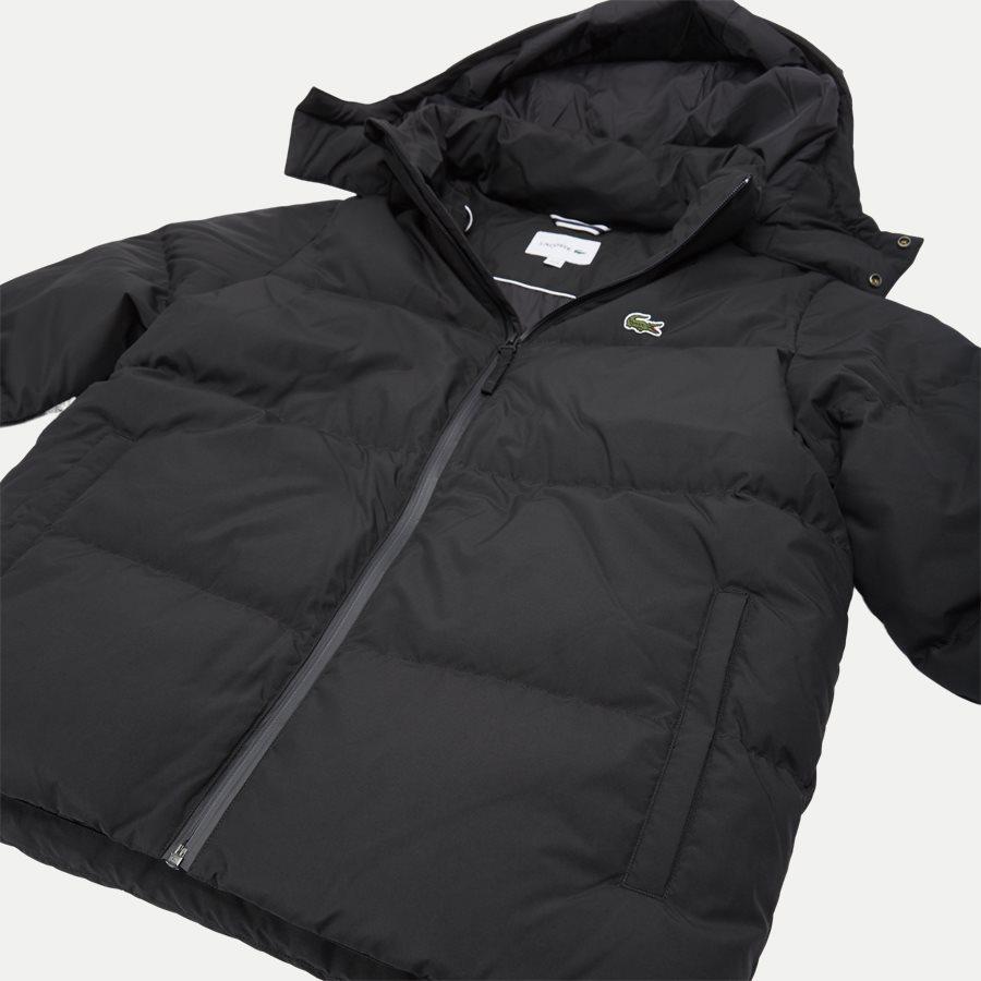 BH9358 - Detachable Hood Down Water-Resistant Taffeta Jacket - Jakker - Regular - SORT - 7