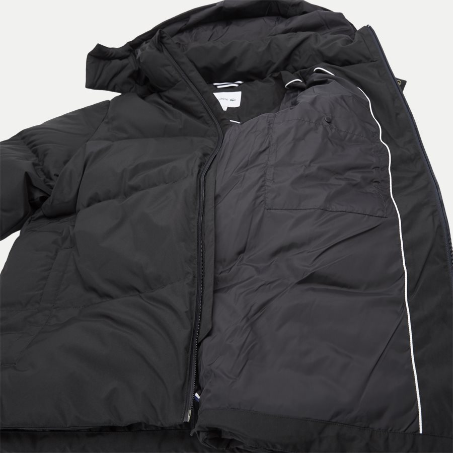 BH9358 - Detachable Hood Down Water-Resistant Taffeta Jacket - Jakker - Regular - SORT - 10