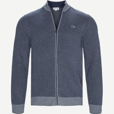 Knitted Cardigan Regular | Knitted Cardigan | Blå