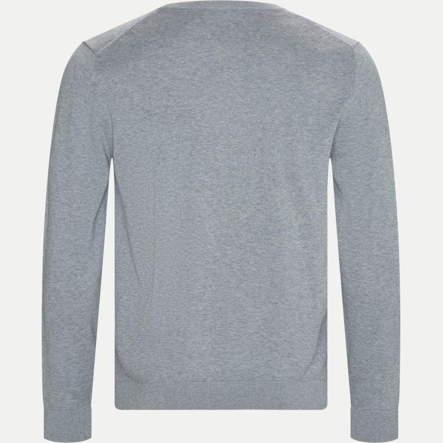 AH7004 - Crewneck Cotton Sweater - Strik - Regular - GRÅ - 2