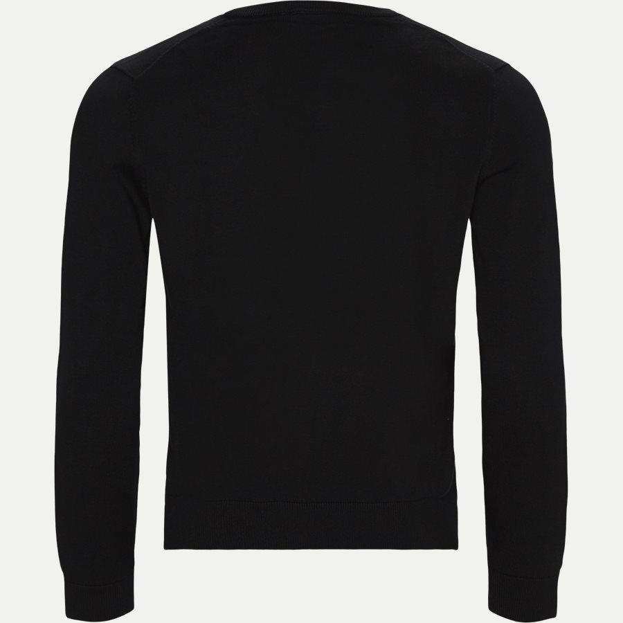AH7004 - Crewneck Cotton Sweater - Strik - Regular - SORT - 2