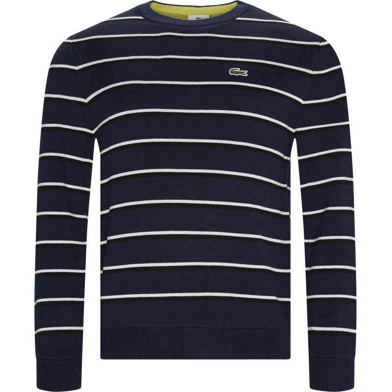 Image of   Lacoste - Striped Cotton Sweater