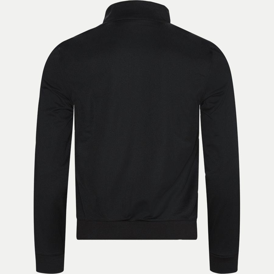 SH8651 - Signature Band Piqué Zip Sweatshirt - Sweatshirts - Regular - SORT - 2