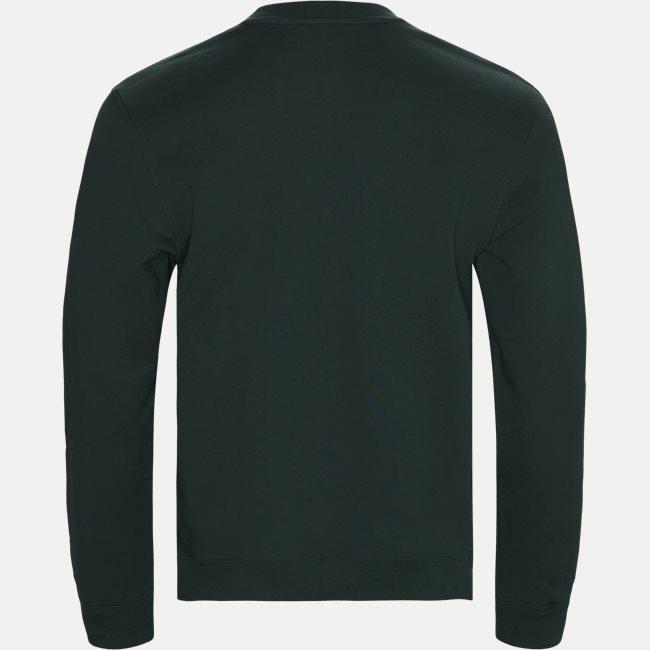 Embroidered Logo Cotton Fleece Sweatshirt