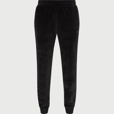 Golden Signature Velvet Sweatpants Regular | Golden Signature Velvet Sweatpants | Sort